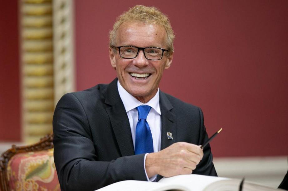 Jean Boulet a été nommé ministre du Travail,... (Photo David Boily, La Presse)