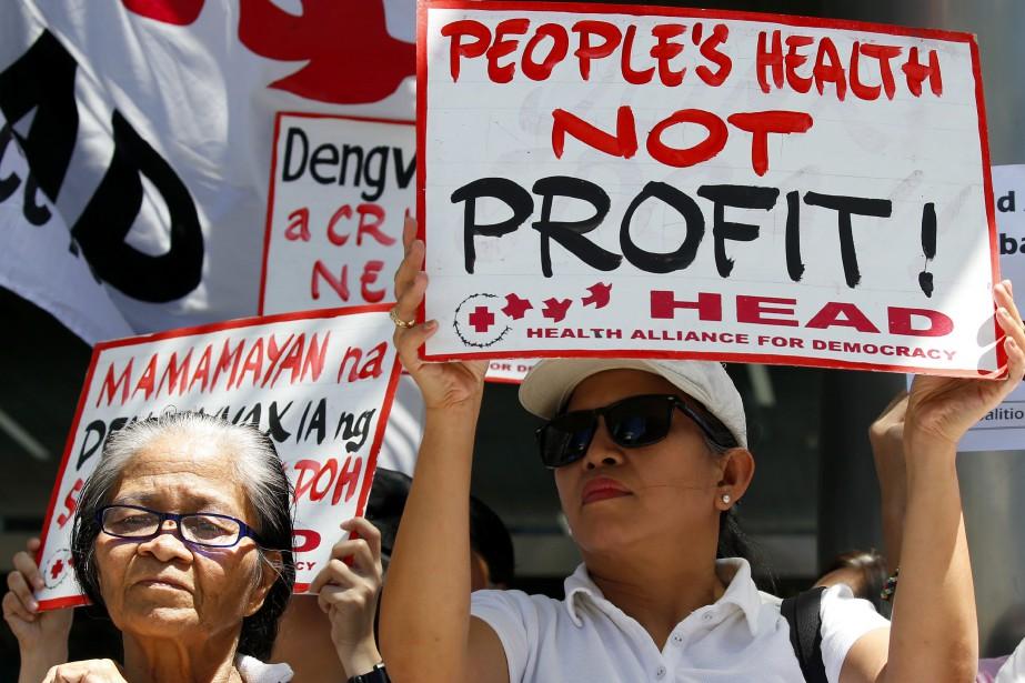 Une poursuite intentée aux Philippines prétend que le... (Photo Bullit Marquez, archives Associated Press)