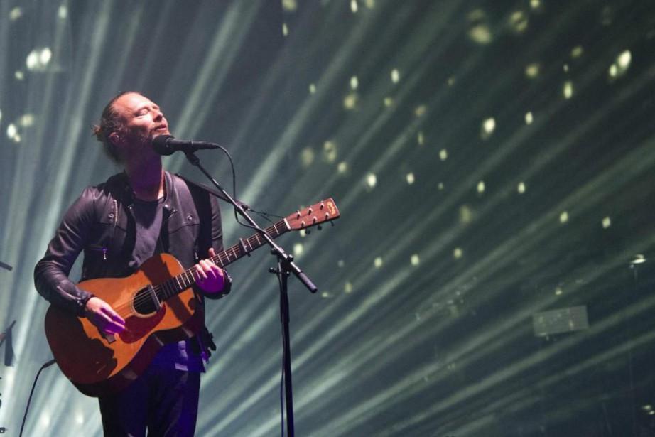 Thom Yorke signe la bande originale du film... (PHOTO VALÉRIE MACON, ARCHIVES AGENCE FRANCE-PRESSE)