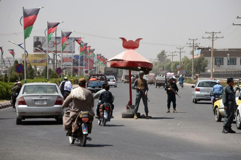La participation aux élections législatives afghanes, qui interviennent... (Photo JAWED TANVEER, AFP)