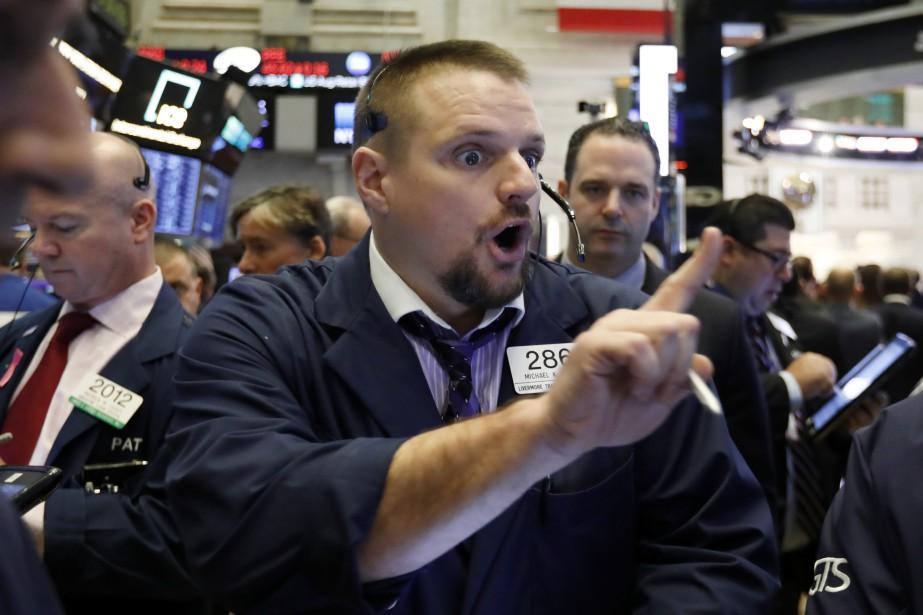 L'indice vedette de la place new-yorkaise, le Dow... (Photo Richard Drew, Associated Press)