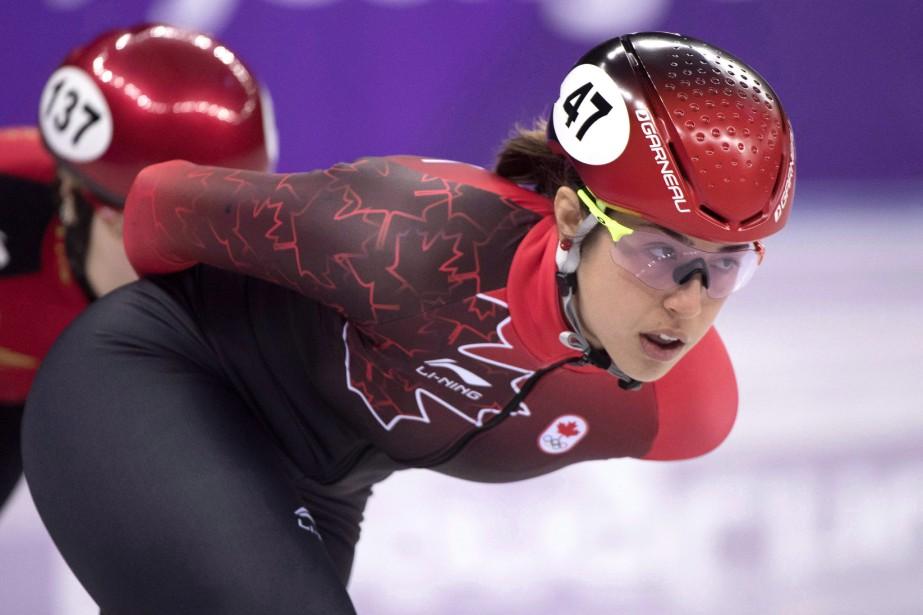 La Québécoise ValérieMaltais... (Photo PaulChiasson, La Presse canadienne)