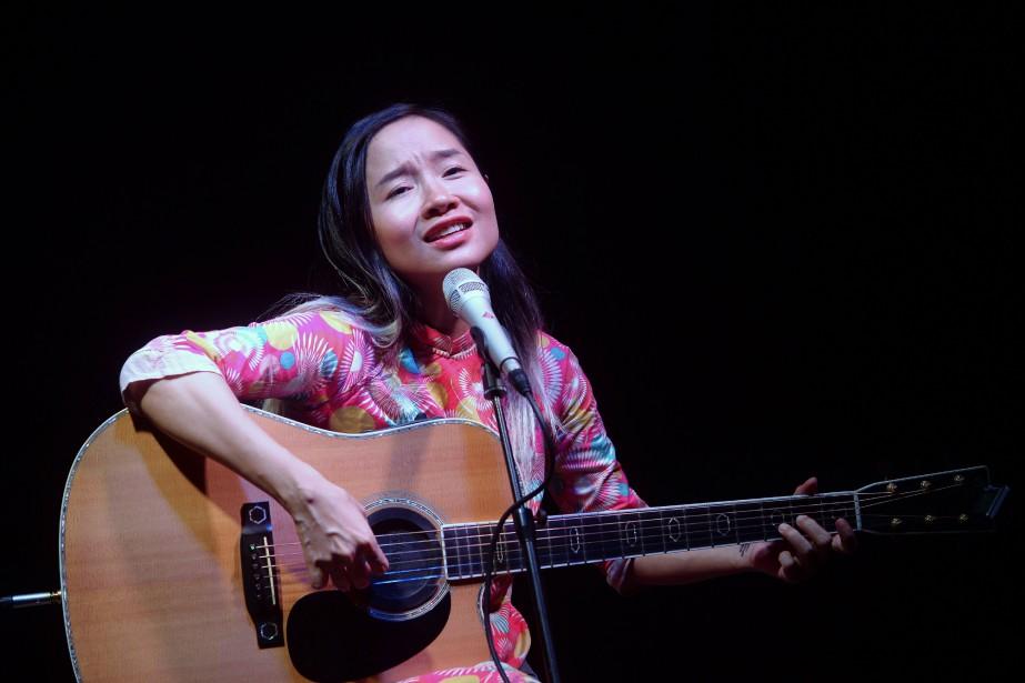 Mai Khoi, une musicienne dissidente surnommée la «Lady... (Photo HOANG DINH NAM, AFP)