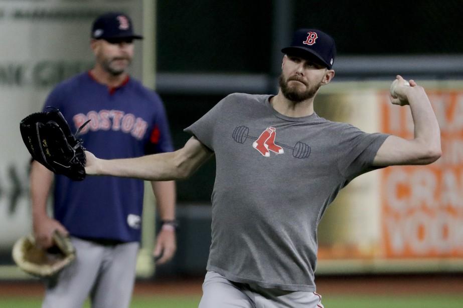 Le gaucher est donc en attente du gagnant... (Photo Frank Franklin II, Associated Press)