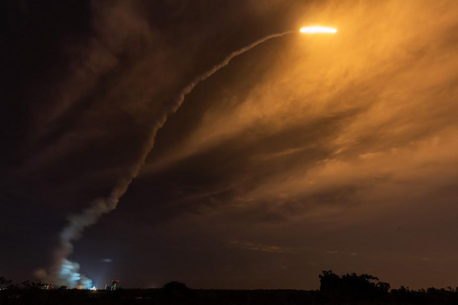 Ariane5 a lancé avec «succès» le satellite BepiColombo... (Photo JODY AMIET, AFP)
