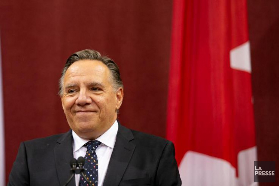 François Legault... (photo david boily, la presse)