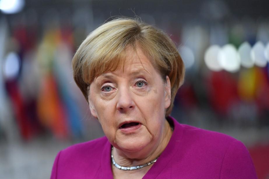 La chancellière allemande Angela Merkel... (PHOTO EMMANUEL DUNAND, AFP)