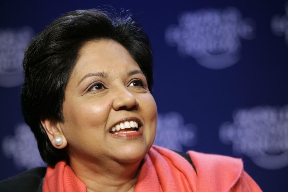 L'Indienne IndraNooyi a quitté fin septembre la tête... (Photo Peter Dejong, AP)