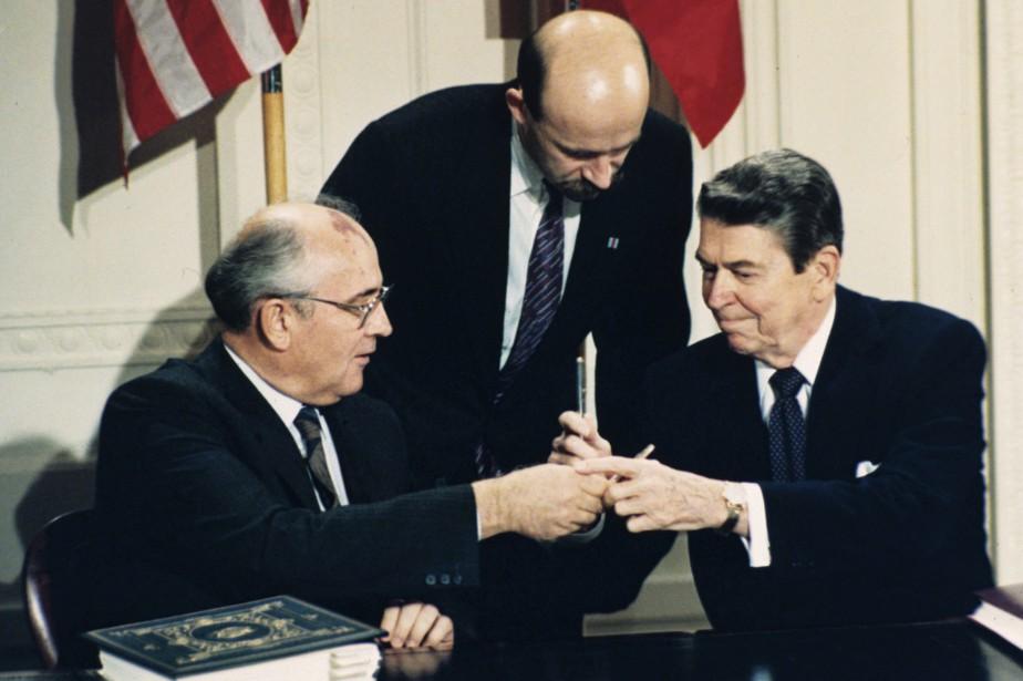 Le traité sur les armes nucléaires de portée... (ARCHIVES AP)