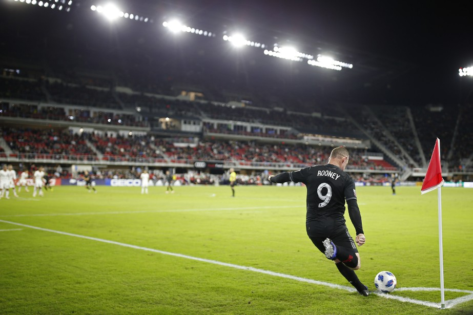L'impact de Wayne Rooney avec sa noivelle équipe... (PHOTO REUTERS)