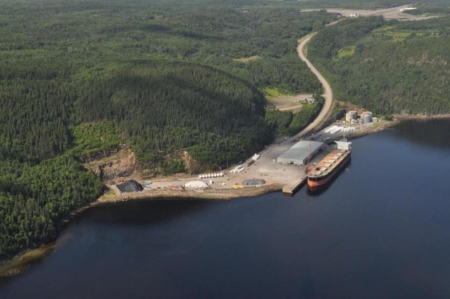 Le Port de Saguenay souhaite construire un nouveau... (PHOTO FOURNIE PAR L'ADMINISTRATION PORTUAIRE DUSAGUENAY)