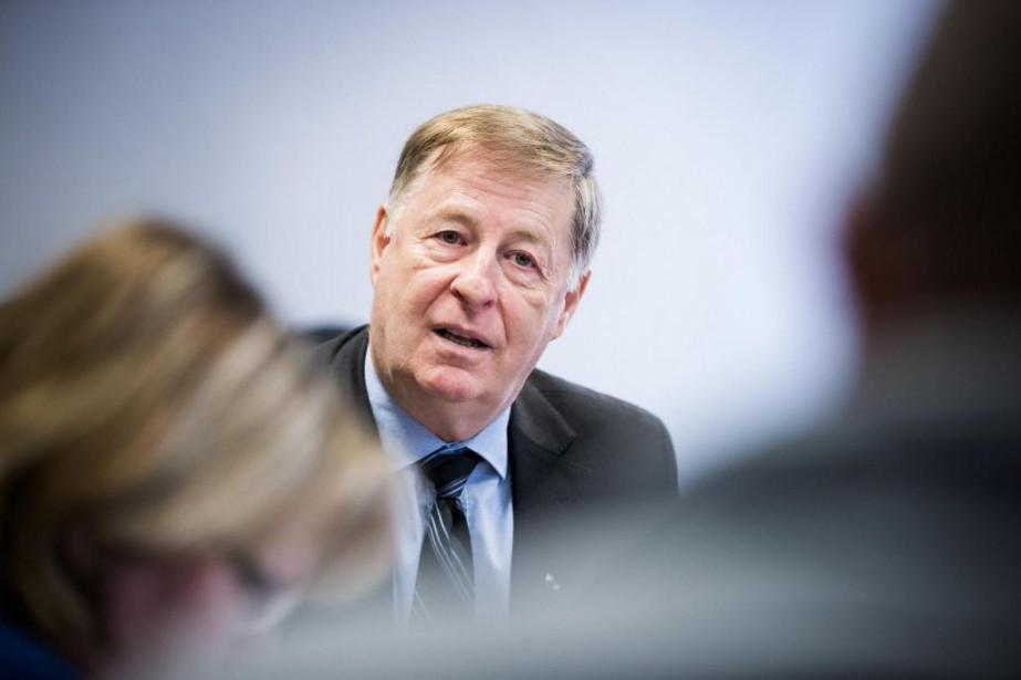 Le maire de Laval Marc Demers... (Photo MarcoCampanozzi, Archives La Presse)