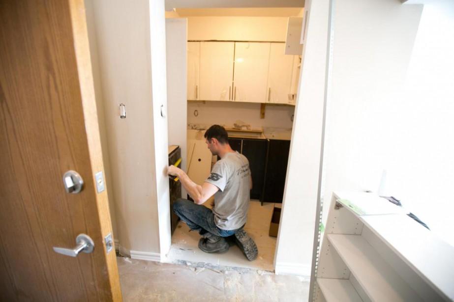 En janvier, l'Association des professionnels de la construction... (Photo François Roy, archives La Presse)