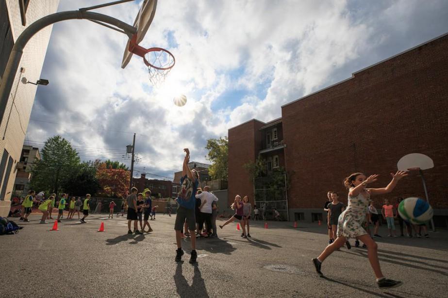 Dans les écoles du Québec, à peine 14%... (Photo Olivier PontBriand, La Presse)