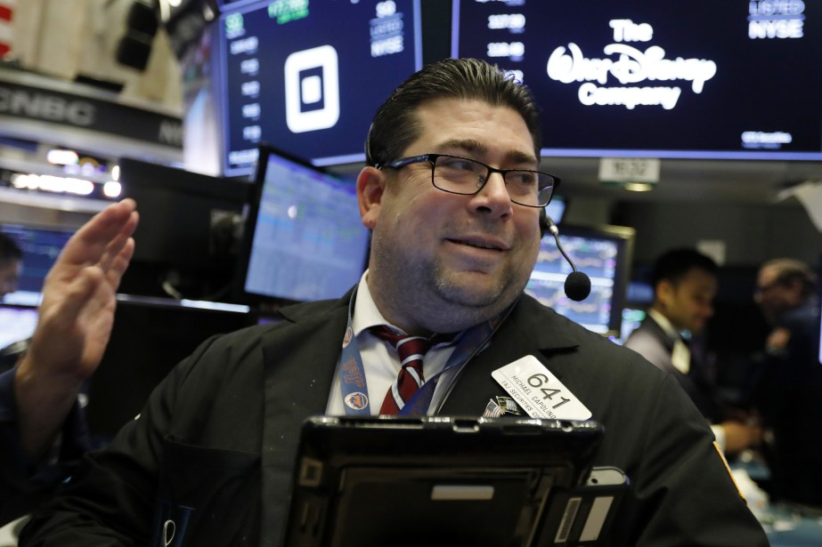 Wall Street a terminé en ordre dispersé... (Photo Richard Drew, Associated Press)