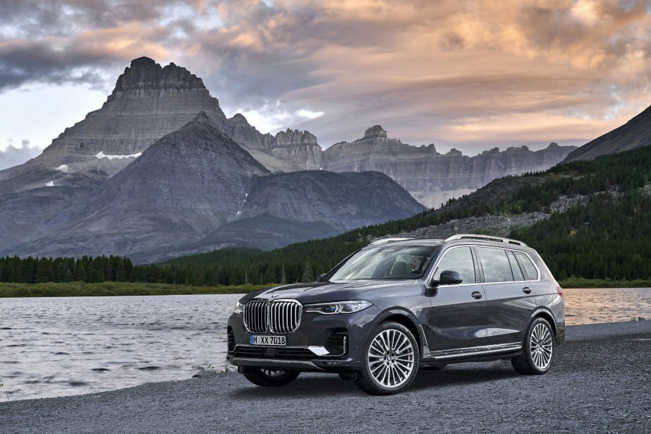 Le BMW X7... (Photo fournie par BMW)