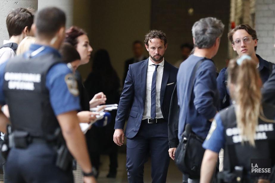 Le policier Patrick Ouellet, en juillet dernier.... (Martin Chamberland, archives La Presse)