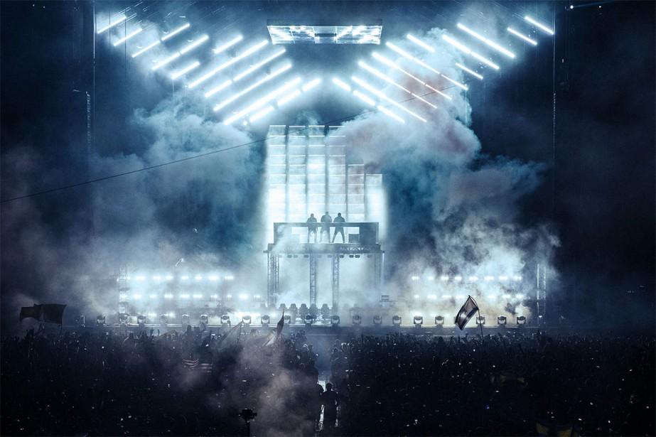 Le trio de DJ Suédois Swedish House Mafia a annoncé... (Photo tirée de Facebook)