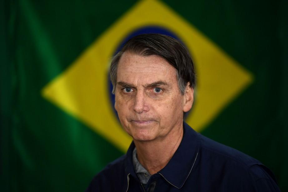 Jair Bolsonaro a notamment évoqué un «nettoyage en... (Photo MAURO PIMENTEL, Agence France-Presse)
