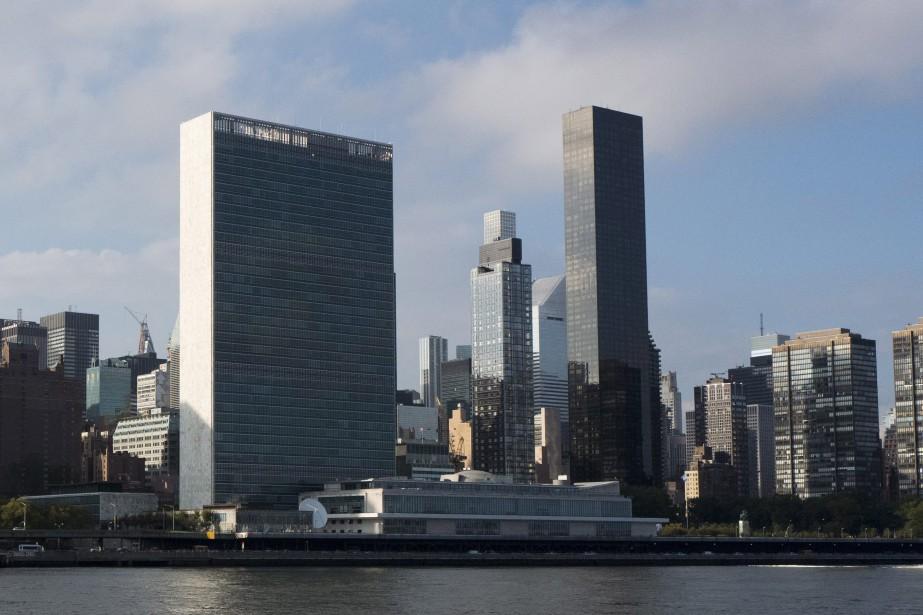 Le siège social de l'ONU, à New York.... (PHOTO AP)