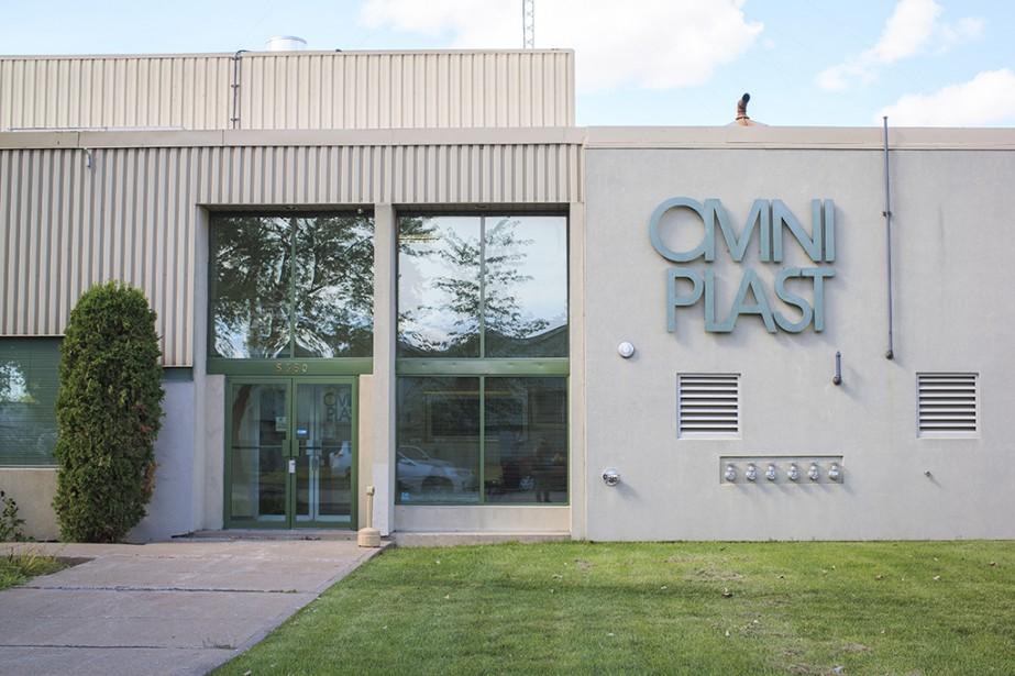 Le fabricant de sacs de plastique Omniplast a... (Photo Olivier PontBriand, La Presse)