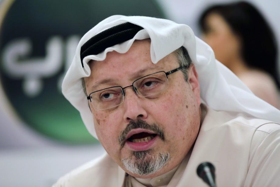 Jamal Khashoggi en 2015... (Photo Hasan Jamali, AP)