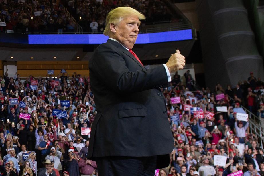 DonaldTrump a indiqué lundi que les États-Unis développeraient... (Photo SAUL LOEB, Agence France-Presse)