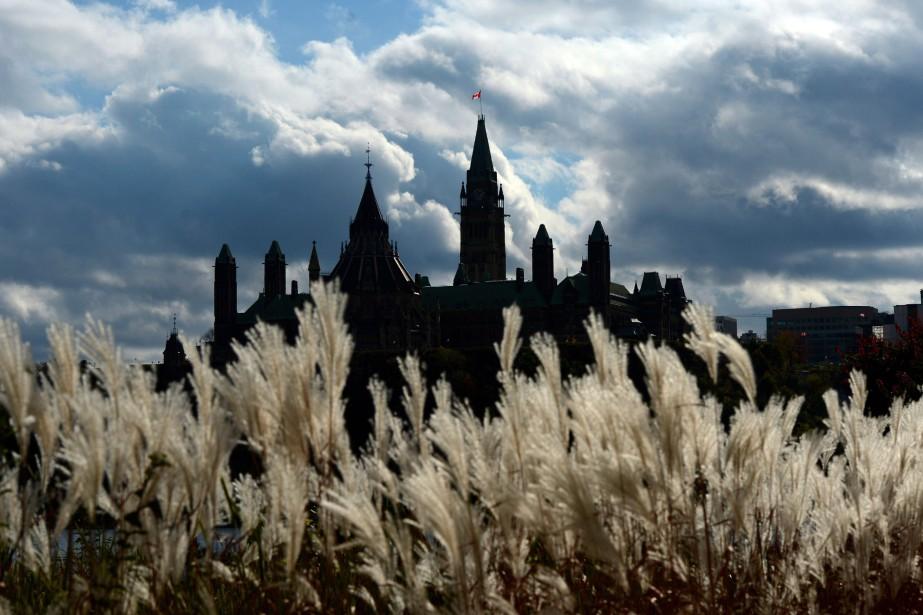 L'édifice du Parlement, à Ottawa.... (Photo Sean Kilpatrick, archives La Presse canadienne)
