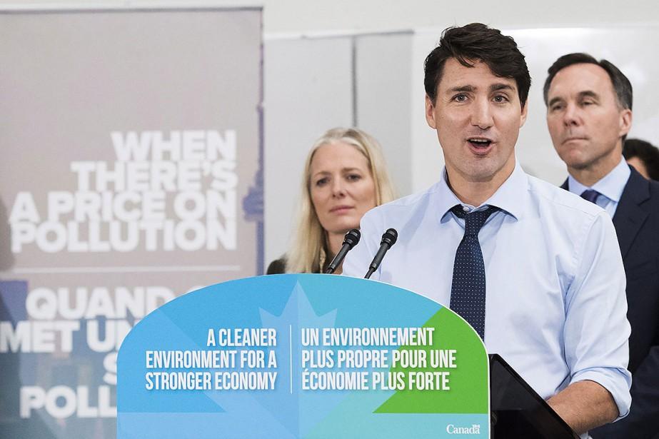 Lors de son annonce en banlieue de Toronto,... (Photo Nathan Denette, PC)