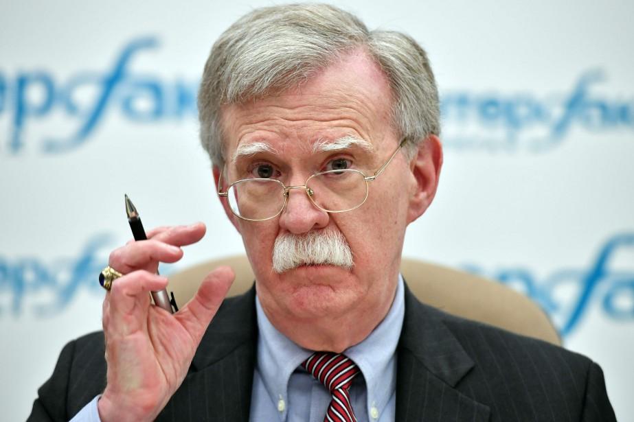 Le conseiller de la Maison-Blanche à la Sécurité... (Photo YURI KADOBNOV, AFP)