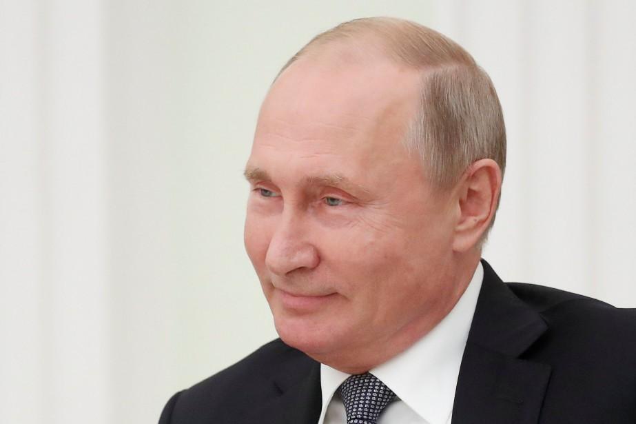 Le président russe Vladimir Poutine... (Photo MAXIM SHEMETOV, REUTERS)