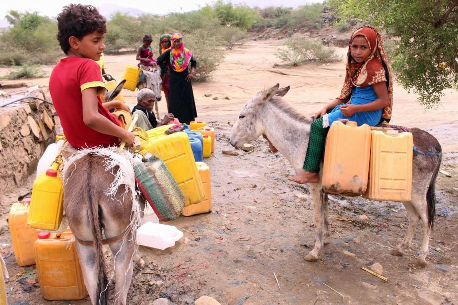 L'ONU estime que 14 millions de yéménites pourraient... (Photo ESSA AHMED, archives AFP)