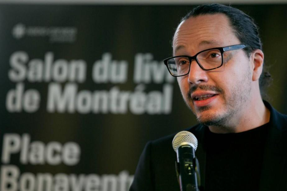 Le nouveau directeur général du Salon du livre... (Photo François Roy, La Presse)