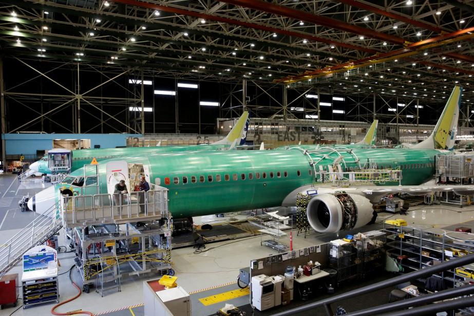 Boeing, dont l'optimisme repose sur une hausse des... (Photo JASON REDMOND, REUTERS)