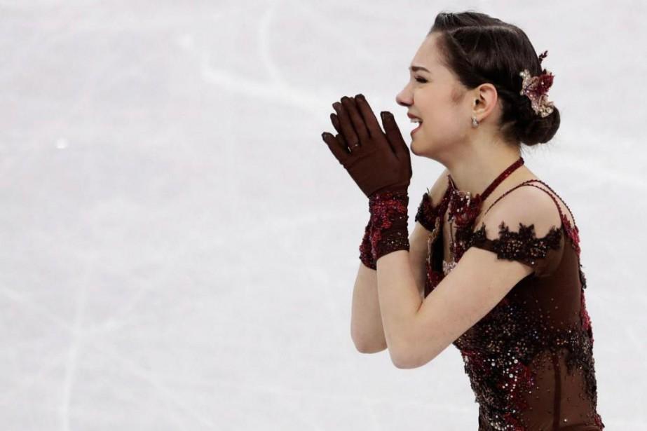 Evgenia Medvedeva... (Photo Petr David Josek, archives Associated Press)