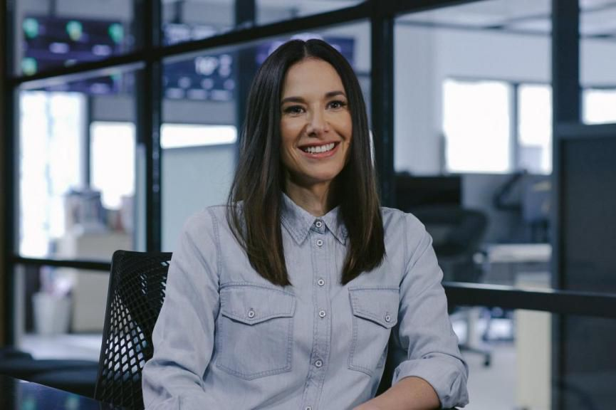 Jade Raymond, fondatrice du studio Motive d'Electronic Arts... (photo fournie parMotive)