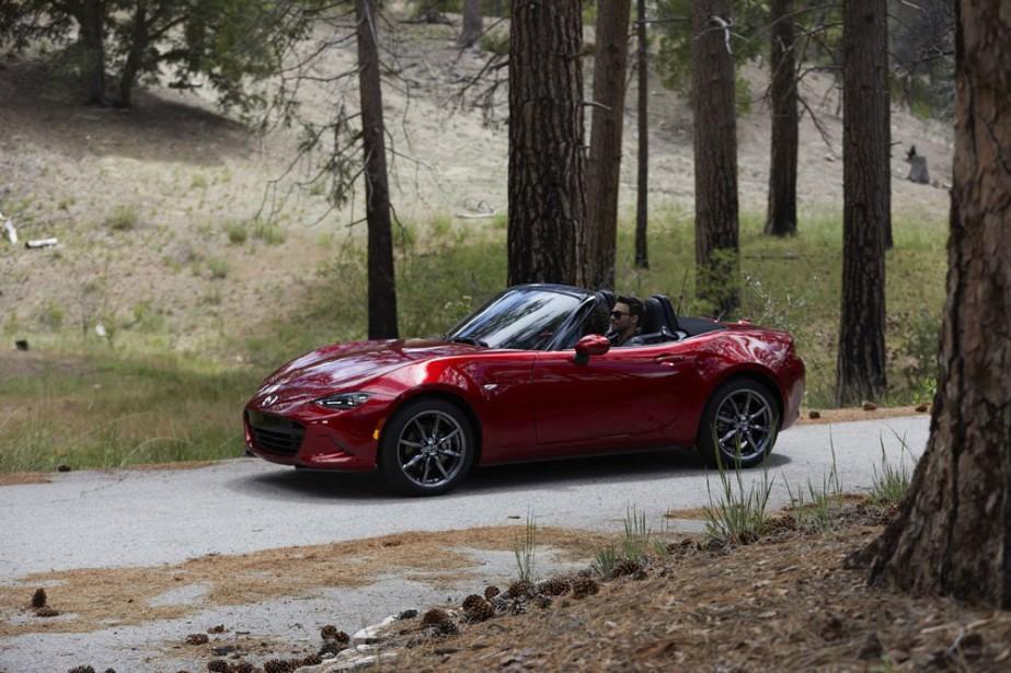 Mazda MX-5 (PHOTO MAZDA)