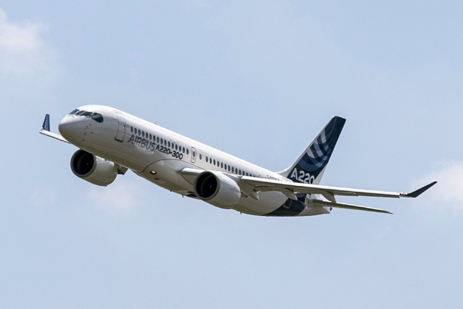 Un Airbus A220.... (Photo Frederic Scheiber, archives ASSOCIATED PRESS)