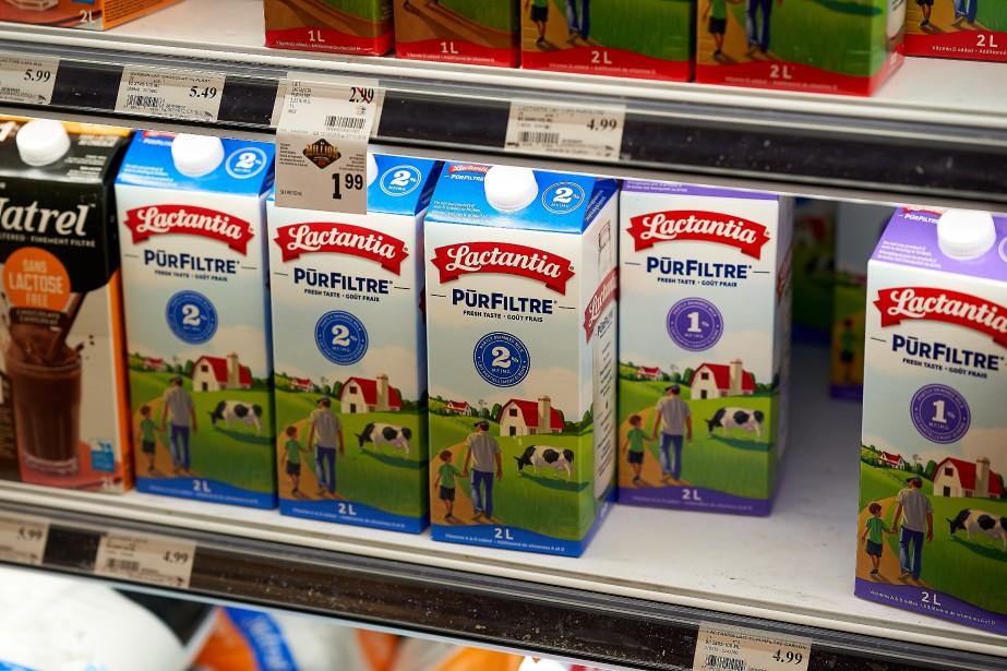 Les laits Lactantia et Béatrice provenaient déjà du... (Photo Andre Pichette, La Presse)