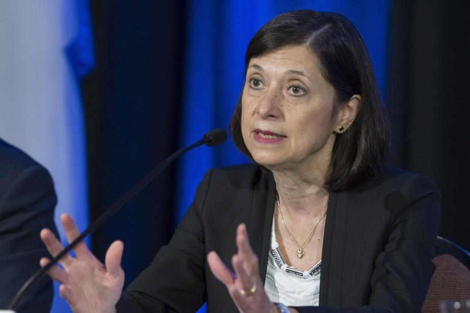 La nouvelle ministre de la Santé, Danielle McCann.... (Photo Jacques Boissinot, La Presse canadienne)