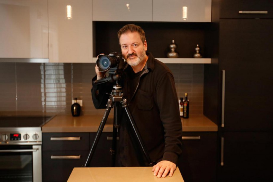Hugues Poirier, photographe immobilier... (PHOTO IVANOH DEMERS, LA PRESSE)