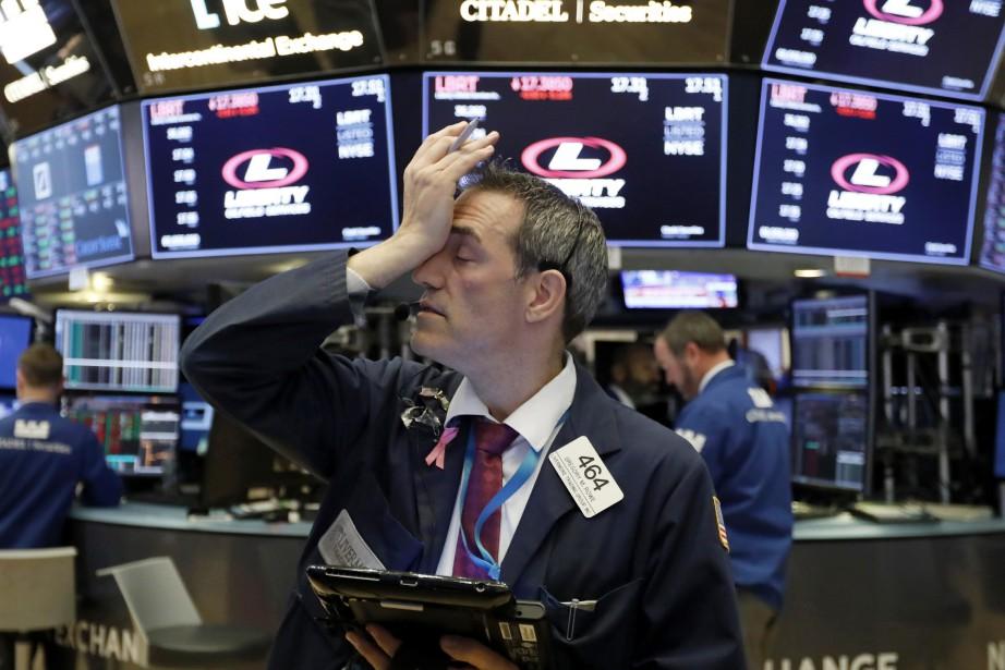 L'indice vedette de la place new-yorkaise, le Dow... (Photo Richard Drew, archives Associated Press)