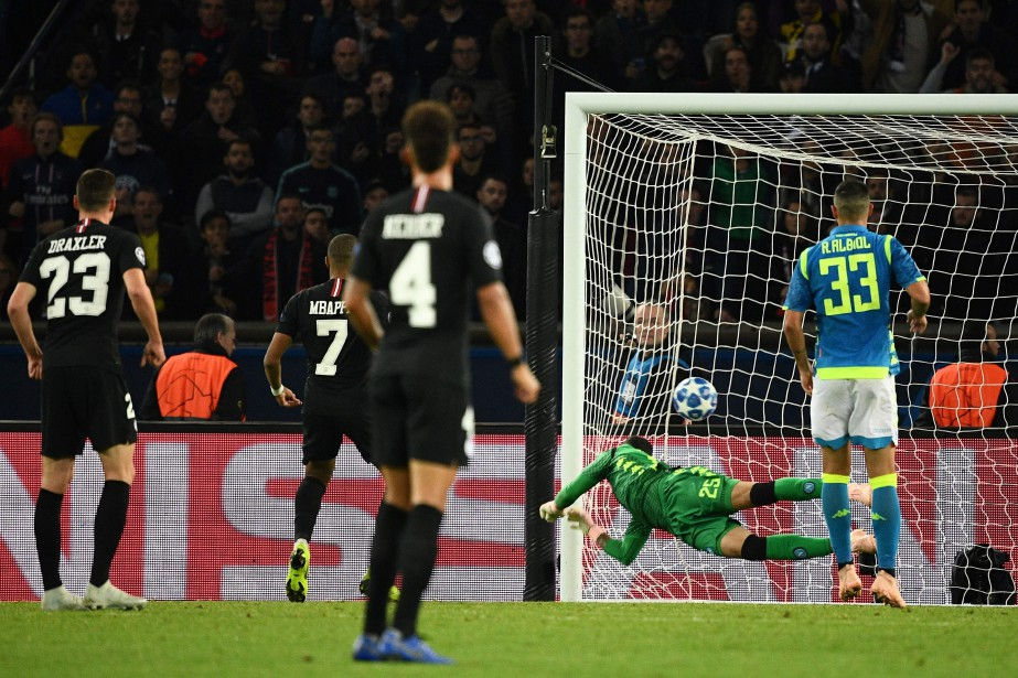 Le but d'Angel Di Maria a été inscrit... (PHOTO AFP)