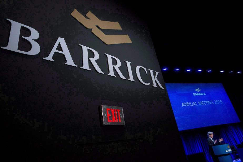 Barrick Gold a annoncé une perte de 412... (Photo Nathan Denette, archives La Presse canadienne)