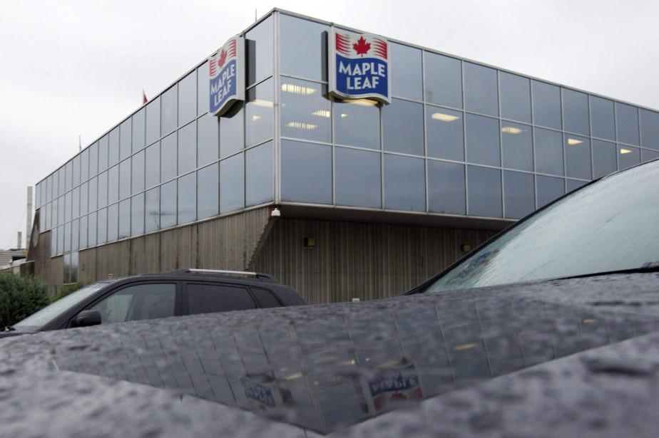 Maple Leaf a expliqué que la croissance dans... (Photo Frank Gunn, La Presse canadienne)