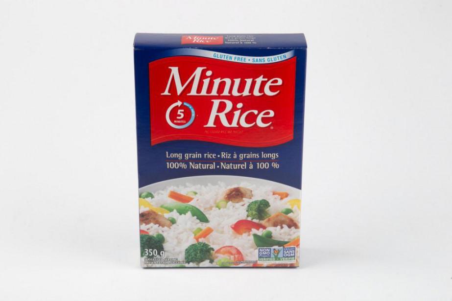 Selon la nutritionniste Karine Paiement,«ce riz est prêt... (Photo David Boily, La Presse)