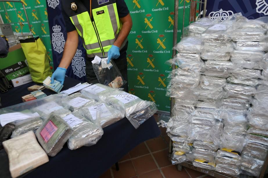 La cocaïne était cachée dans une cargaison de... (Photo JON NAZCA, REUTERS)
