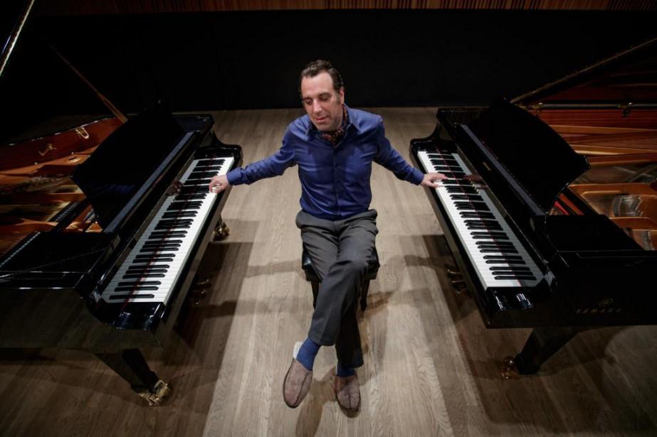 Le pianiste Chilly Gonzales (photographié à l'Université McGill,... (Photo OlivierJean, La Presse)