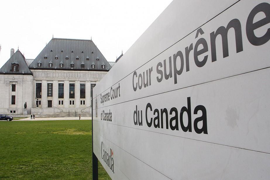 Cour Supreme du Canada Etienne Ranger,LeDroit... (Photo etienne ranger, La Voix de l'Est La Voix de l'Es)
