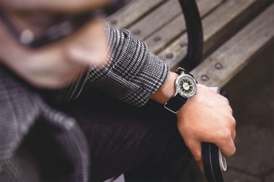 Timex x Todd Snyder, modèle Mod, 178 $... (Photo fournie par Timex)